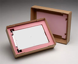 Antistatic foam box insert with polyurethane