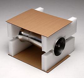 Polyethylene foam box insert