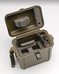Custom military case with PE foam insert