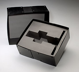Custom PE foam box insert in cross-link polyethylene