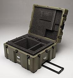 Custom molded case and foam insert