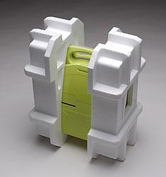 Custom die cut EPS styrofoam box inserts