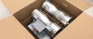 Custom corrugated box inserts