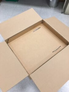 Custom corrugated box liners and trays