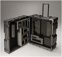Custom foam inserts for military cases