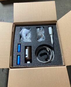 Custom foam box insert to protect medical device