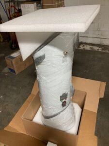 Custom packaging for medical equipment